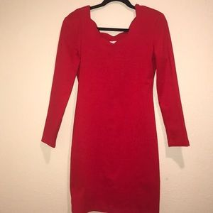 Size 9 Holiday Red Dress